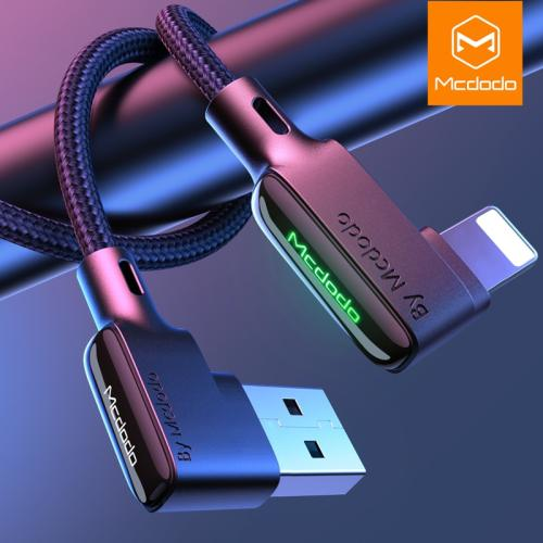 MCDODO 3A USB Type C Fast Charging USB Cable For iPhone 11 Pro XS MAX XR 8 7 6 6s Plus Mobile Cell Phone Charger Cord Data Cable