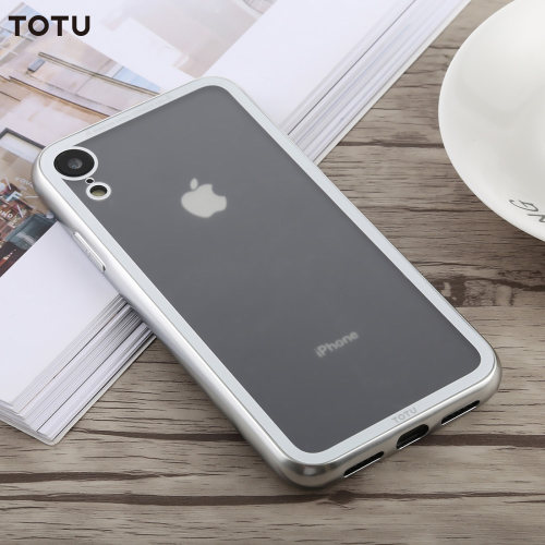 TOTU Phone Case For iPhone XS Max XR Phone Protective Case Cover For iPhone XS Max XR Transparent TPU + PC Case For iPhone Xr