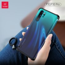 XUNDD Bezelless phone case for HUAWEI P30 Pro  bumper protective cases matte frosted cute candy colorful martin