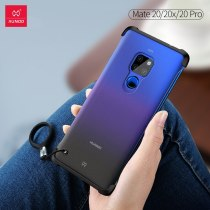 XUNDD Bezelless phone case for HUAWEI Mate 20 Pro X lite bumper protective cases matte frosted cute candy colorful martin