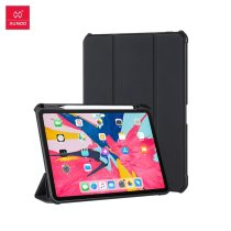 Xundd Protective Tablet Case For iPad Pro 12.9 Anti-Drop Magnetic Pencil with Pen Holder TPU Silicone Cover Airbag Protection