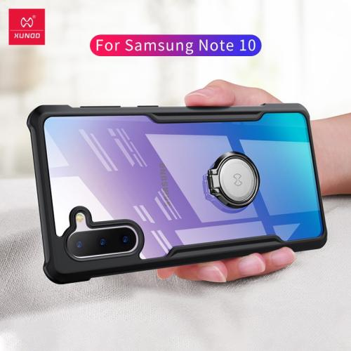 Xundd New For SAMSUNG GALAXY Note 10 Case Shockproof Phone case For SAMSUNG GALAXY Note 10+ Pro With Bumper Beet With Strap