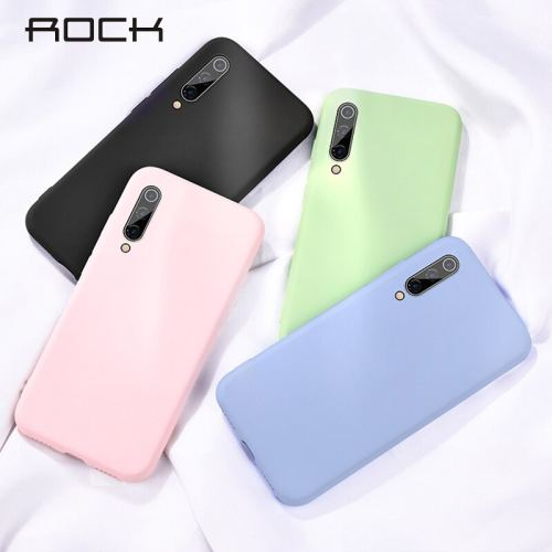 Rock Liquid Silicone Case For Xiaomi Redmi Note 8 Pro 8T Soft TPU Cute Smooth Back Cover For Redmi 8 8A 7 7A K20 Note7 Pro Cases