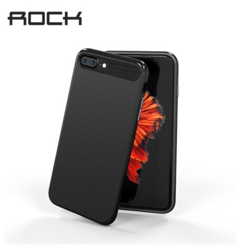 Rock Carbon Fiber Case for iphone 7 Shockproof Men Business Back Cover for iphone 7 Plus Drop Protection Cover