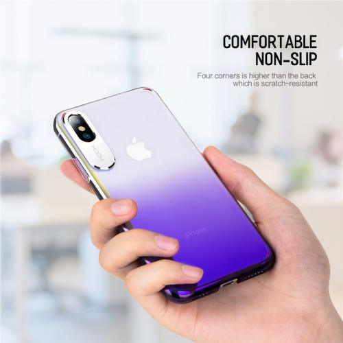 ROCK Case for Apple iphone X XS Max Luxury Slim Transparent Armor Back Capa Cover For iPhone XR Clear Coque