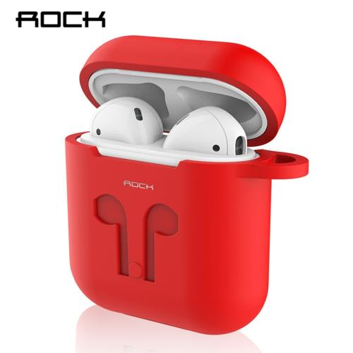 ROCK Protective Silicone Case Skin for Apple Airpods Carrying Case Wireless Bluetooth Earphone Accessories for Air Pods Case