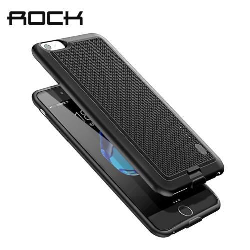 ROCK Battery Case For iPhone 7 6 6S X Power Bank Charing Case For iPhone X 6000 mAh Battery Charger Back Case Cover