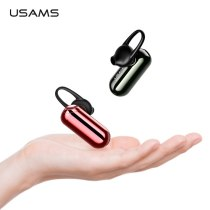 USAMS Wireless Bluetooth Earphone for iPhone Ultra Light Noise Reduction In-ear wireless earphones Mic Stereo Hand free BT 4.2 Headset