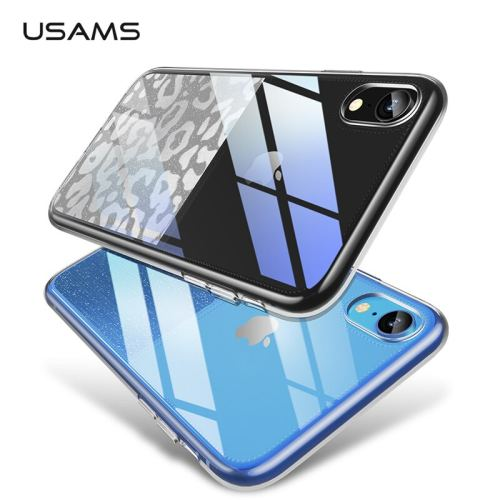 USAMS Transparent Phone Case For iPhone XR XS XS Max Back Case Cover for iphone xr case full protective TPU For iphon xs Apple