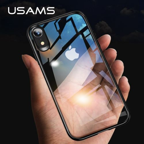 Newest USAMS Mobile Phone Case For iPhone XR XS XS MAX Case Cover Full Protective TPU PC Transparent Back Shell for iPhone Apple