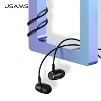 USAMS EP-26 Tiffany Blue in-ear Metal Earphones,USAMS 3.5mm Hifi Earbuds Bass Earphones Stereo Headset inear Wired Ear phone With Mic
