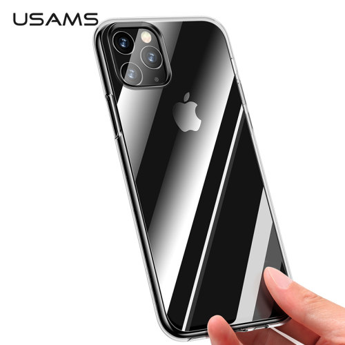 USAMS Transparent TPU Case for iPhone 11 Max Ultra-thin Thickness Back Cover Coque for iPhone 2019 Shockproof Shell Phone Case
