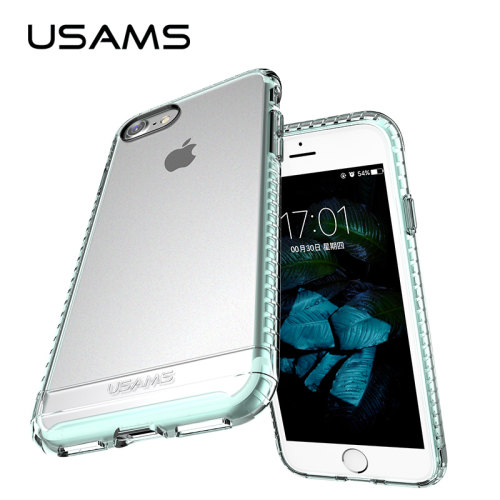 Protector Case For iPhone 7 7Plus USAMS Phone Case for iPhone 8 8Plus Back Case Cover Full Protective for iPhone 4.7 5.5 inches