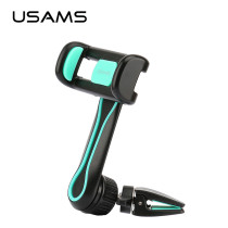USAMS Car Holder for Mobilephone Air Vent Mount Car Phone Holder 360 Degree Ratotable Car Holder Stand for iPhone Samsung Xiaomi