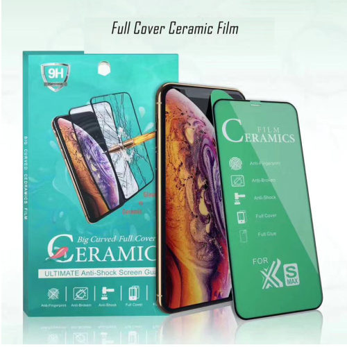 Proof Soft Ceramic Film for iPhone 7 8 6s Plus Full Glue Cover Film for iPhone 11 Pro Max X XS MAX XR Screen Protector