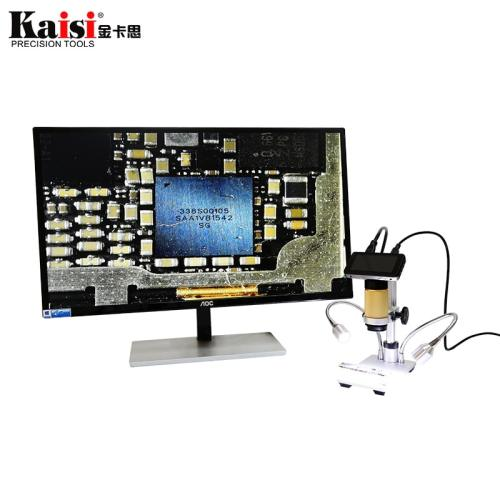 Kaisi HDMI microscope long object distance digital USB microscope for mobile phone repair soldering tool bga smt watch