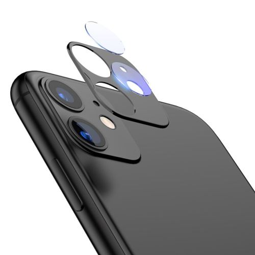 TOTU Protector Glass Case Luxury Fake Camera Lens Support Flash Cover Sticker Seconds Change For iPhone 11 For iPhone 11 Pro Max