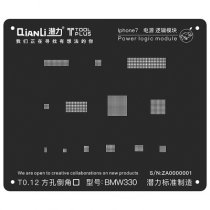 QianLi ToolPlus  For iPhone 7/7P Black Stencil Power Logic Module