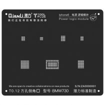 QianLi ToolPlus  For iPhone 6/6P Black Stencil Power Logic Module