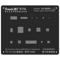 QianLi ToolPlus  For iPhone 8/8P  Black Stencil Power Logic Module