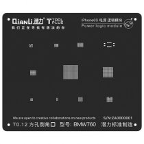 QianLi ToolPlus  For iPhone 6S/6SP 3D Black Stencil Power Logic Module