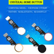 Home Button Assembly Flex For iPhone 7 8 7P 8P Universal