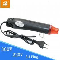 M-Triangle 220V Heat Gun Electric Power Tool 300W DIY Hot Air Gun 1pcs EU Plug