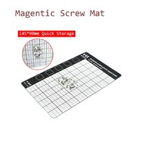 Magnetic Screw Mat 145 x 90mm Hand Tool Set Mobile Phone Repair Tools  Magnetic Working Pad Memory Chart Work Pad Quick Storage