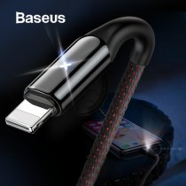 Baseus X Lighting USB Charger Cable for iPhone X 8 7 6 6s Plus 5 5s SE Fast Charging Data Cable 2.4A Quick Charge Charger Cable