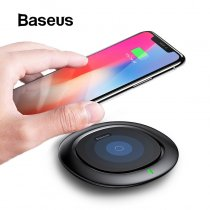 Baseus UFO Wireless Charger For iPhone X 8 XR Samsung Note 9 S10 S9 10W Qi Wireless Charging Pad for huawei xiaomi Mobile Phone