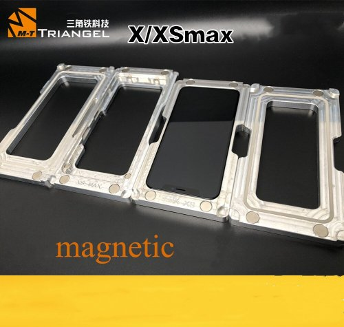 New holding pressure clamping mold mobile phone repair for iphone X XS XS-MAX middle frame laminating mold replacement screen