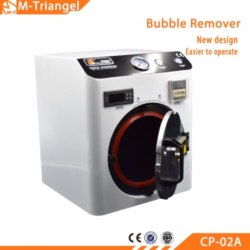 220V/110V OCA LCD Bubble Remover Machine Does Not Return Bubble For LCD Refurbishment 7inch Screen Need External Pump M-Triange