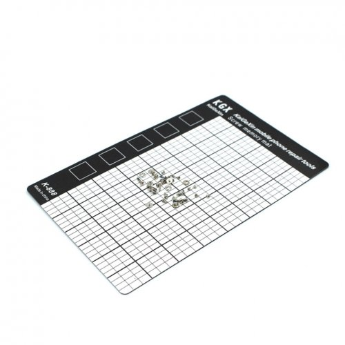 M-Triangle Magnetic Screw Mat Magnetic Working Pad Memory Chart Work Pad Mobile Phone Repair Tools 145 x 90mm Hand Tool Set