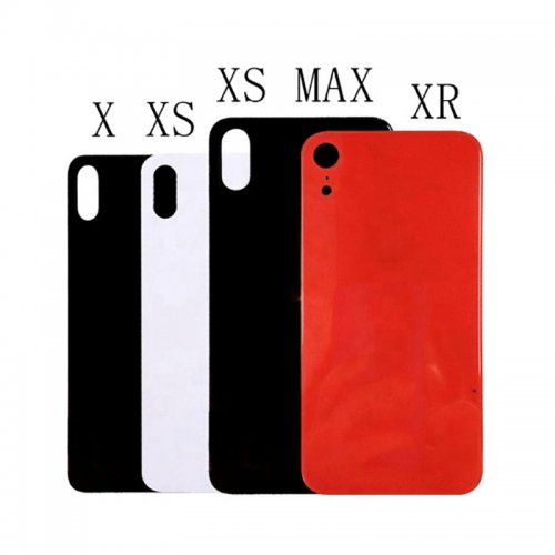 10pcs New XR XS Battery Cover For iPhone x XR / XS / XS MAX Back Cover Glass Housing Case With Adhesive Sticker