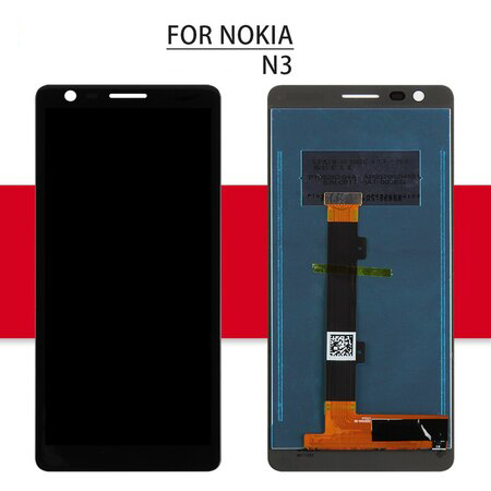 For Nokia 3 LCD N3 Touch For Nokia 3.1 Plus Display Digitizer Assembly Glass Sensor Replacement Parts For Nokia 3.1 Screen