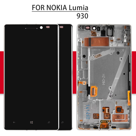 Screen For Nokia Lumia 930 LCD Display Matrix + Touch Screen Digitizer Full Assembly/Frame 5.0'' For Nokia Lumia 930 Display
