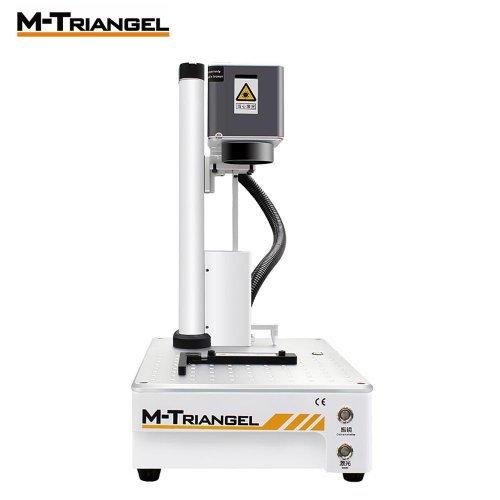 M-Triangel Mg one Fiber Laser Engraving 20W Engraver Cutting LCD Cutting Repair Separator Machine Carving Machine Wood Router