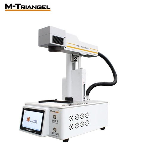 M Triangel Laser Engraving Machine Built-In Computer for iphone 8-11 pro max Back Glass Remover