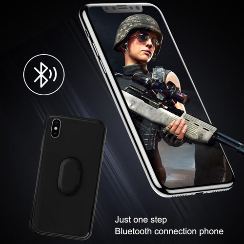 Bluetooth Controller Mobile Phone Case 2 in 1 Mobile Joystick Trigger Fire Aim Button Game Pad for iPhone 7 8 X XR XS Max 7P 8P