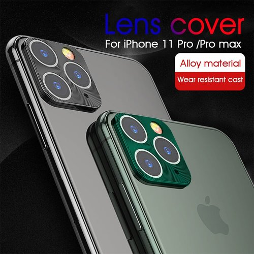Metal Camera Protective Case For iPhone 11 pro max 6.5 Phone Back Camera Screen Protectors Cover For iPhone 11 2019 11 pro