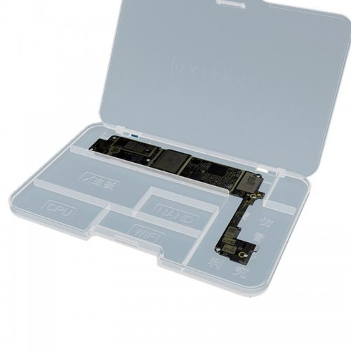 JC  Motherboard Placement box For iPhone 6-X IC Chips Mainboard  Storage Box Phone Repair Tools