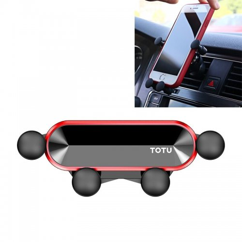 TOTU Car Air Outlet Phone Holder Suitable For Mobile 4-6.4 inch Car Holder in Car Air Vent Clip Mount For IOS or Android Phone