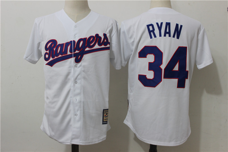 Men s Texas Rangers  34 Nolan Ryan Majestic Royal Home Blue Cool Base  Cooperstown Collection Player Jersey Item NO  954849 23e3b90a8