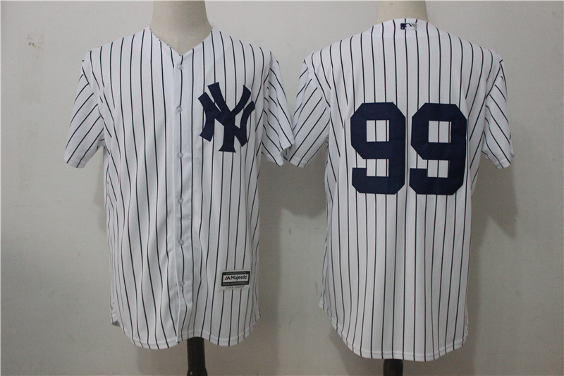 check out 8cde7 5b94f New York Yankees #99 Aaron Judge White Baseball Jerseys Cool Base
