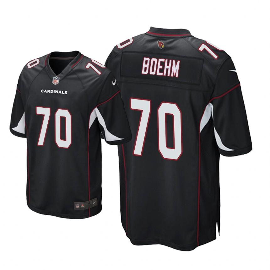 e3039039eb5e Arizona Cardinals Evan Boehm Game Jersey Black Youth