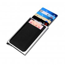 NEW-BRING Slim Card Holder Wallet Automatic Pop-up Case