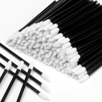 600PCS Disposable Lipstick Applicators Wands Makeup Applicators Brushes Lipgloss Applicators