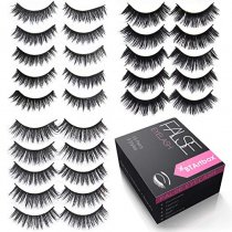 Handmade False Eyelashes Set-J01