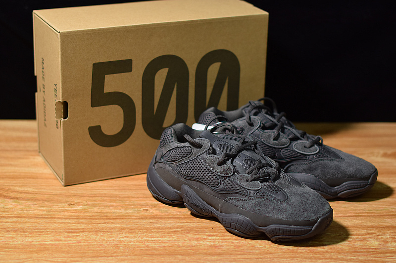 pretty nice 1593a 2b30b ADIDAS Yeezy 500 Desert Rat Utility Black H12