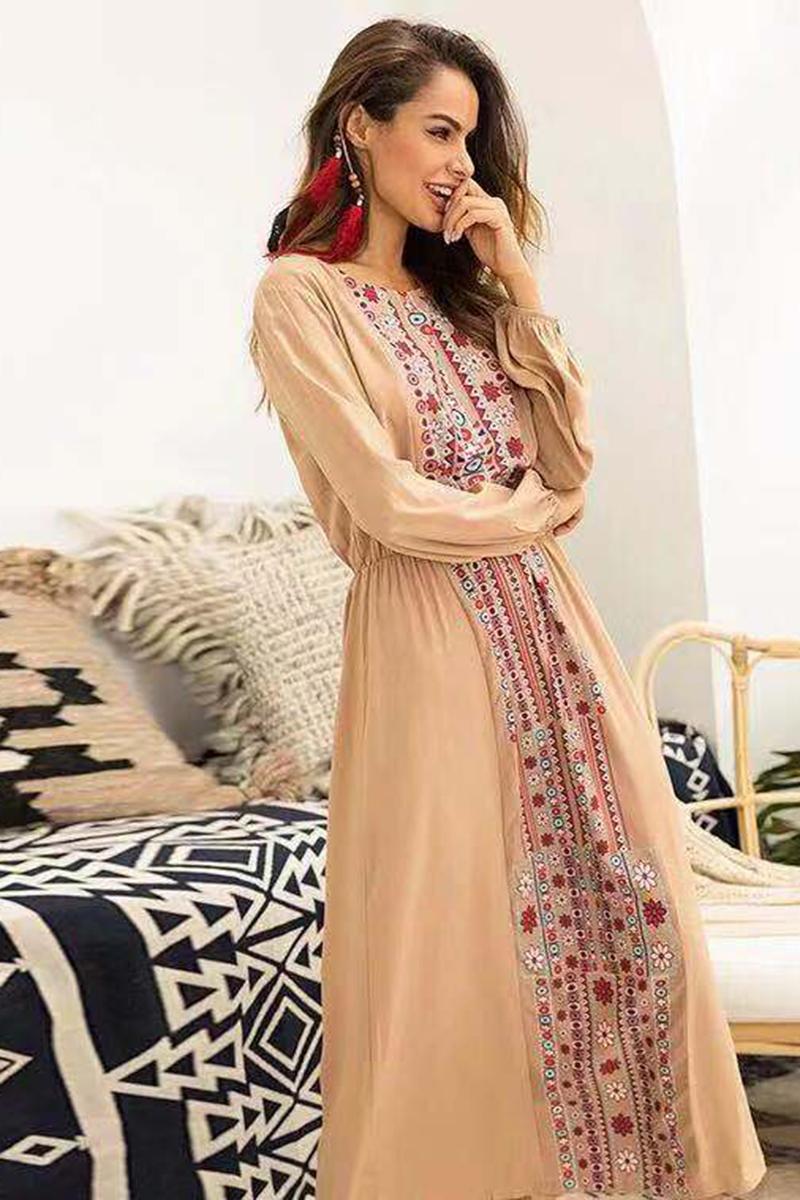 06b1a0a6c7864 US   48 - Vestido largo con estampado floral - www.misscuties.com